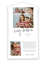 This is a white all in one holiday card by Stacey Meacham called Photo shoot with standard printing on value cover in all-in-one.