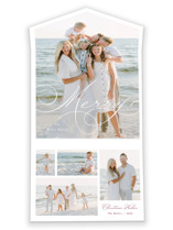 This is a white all in one holiday card by Brandy Folse called Very Merry with standard printing on value cover in all-in-one.