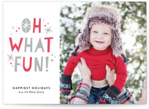 So Much Fun Letterpress Holiday Photo Cards By Jessica Williams