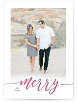 merry scripted card by Jana Volfova