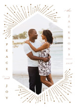 Merry Sparks Letterpress Holiday Photo Cards By Katie Zimpel