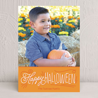 Happy Handwriting Halloween Cards