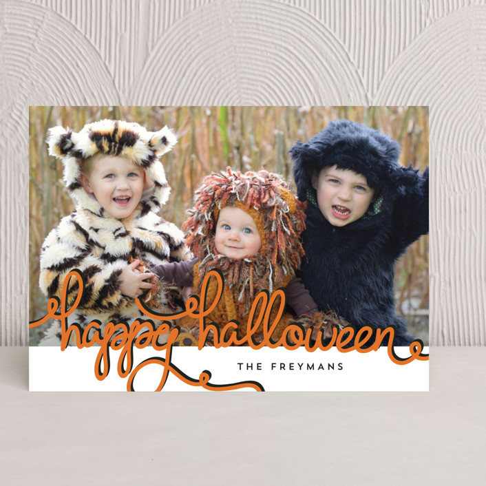 """""""Pumpkin Patch"""" - Halloween Cards in Marshmallow by Chris Griffith."""
