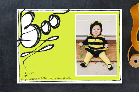 Boo to You! Halloween Cards