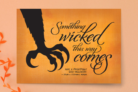 Wicked Scary Halloween Cards by Ann Gardner | Minted