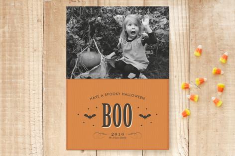 Antique Bats Halloween Cards