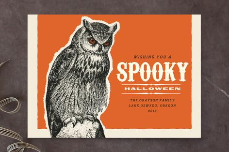 Owl Be There for You on Halloween Halloween Cards