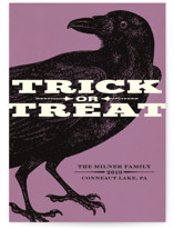 Trick or Treat Raven