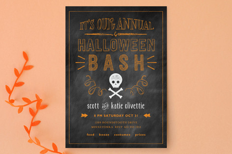 Annual Bash Halloween Cards