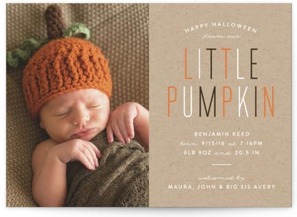Little Pumpkin Halloween Cards
