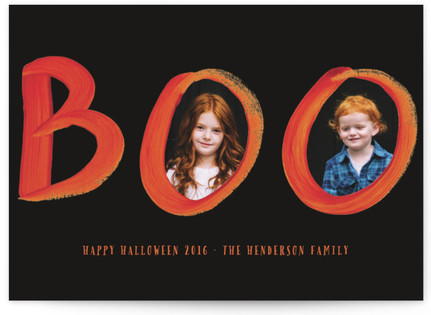 Halloween Boo Halloween Cards