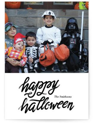 Script Halloween Halloween Cards