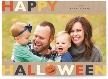 Colorful Halloween Halloween Cards