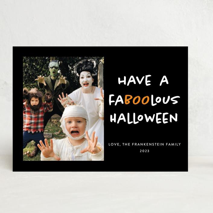 """Faboolous"" - Halloween Cards in Cauldron by Heather Schertzer."