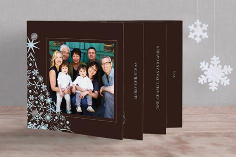 Snowflake Tree Holiday Minibook™ Cards