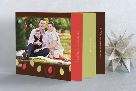 Simple Bulbs Holiday Minibook™ Cards