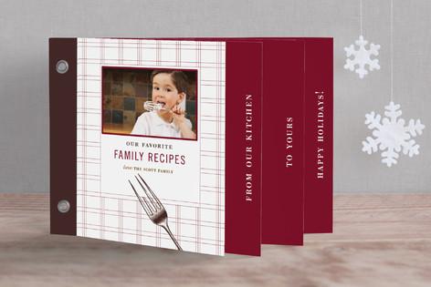 Gathering Recipe Holiday Minibook™ Cards