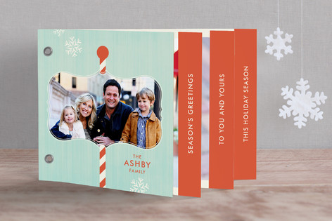 North Pole Greetings Holiday Minibook™ Cards