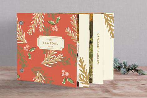 Holiday Botanicals Holiday Minibook™ Cards