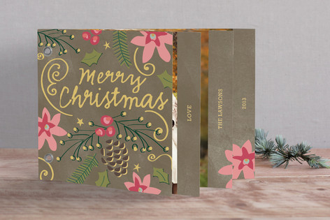 Christmas Bells are Ringing Holiday Minibook™ Cards