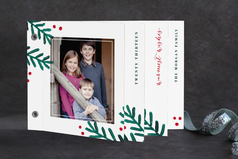 Painted Pine Holiday Minibook™ Cards