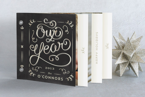 Our Family Album Holiday Minibook™ Cards