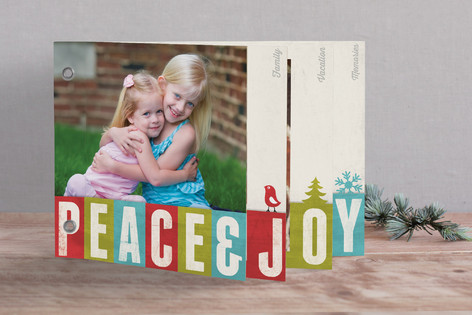Joy of Color Holiday Minibook™ Cards