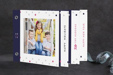 Confetti Celebration Holiday Minibook™ Cards
