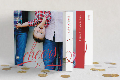 Cheers Holiday Minibook™ Cards