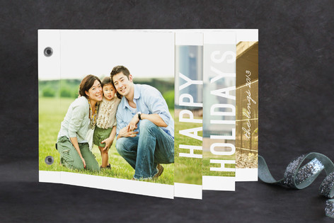 Simply Modern Holiday Minibook™ Cards