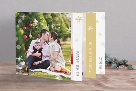 Bright Bokeh Holiday Minibook™ Cards