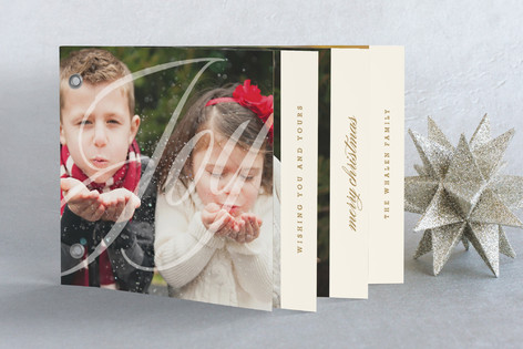 Classically Wished Holiday Minibook™ Cards