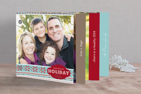 Warm & Cozy Holiday Minibook™ Cards