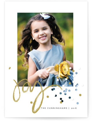 Confetti Joy Holiday Petite Cards