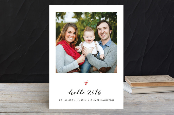"""""""From the City"""" - Holiday Petite Cards in Midnight by Fig and Cotton."""