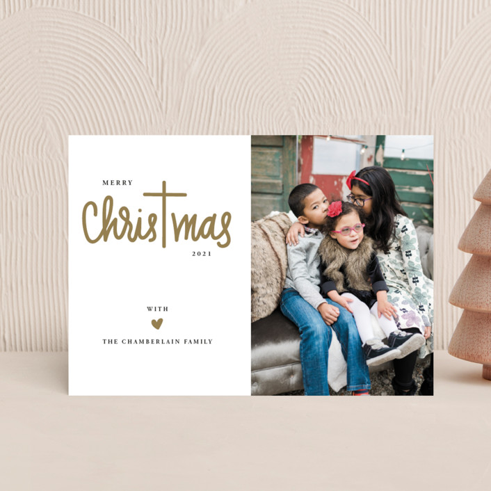 """Christ in Christmas"" - Holiday Petite Cards in Reindeer Antlers by Up Up Creative."