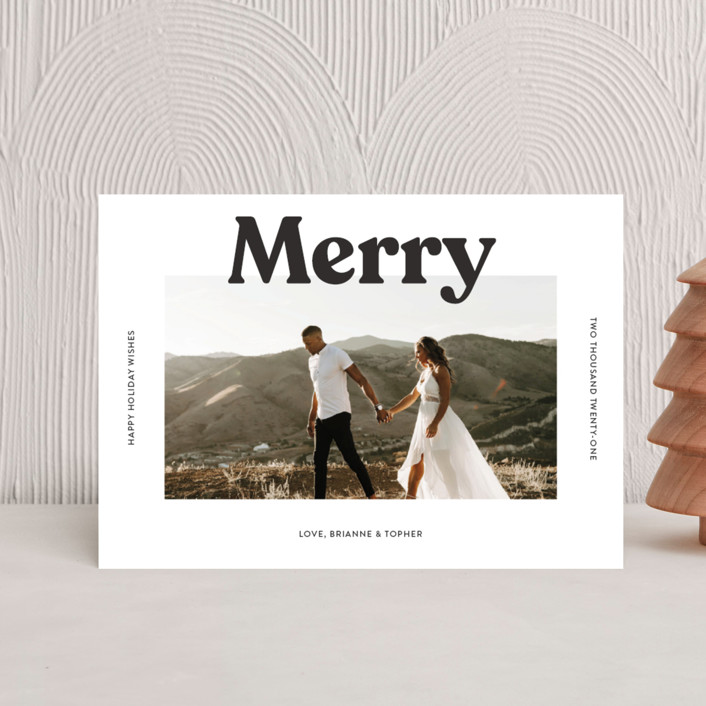 """""""Merry Color Overlay"""" - Holiday Petite Cards in Snowflake by Chryssi Tsoupanarias."""