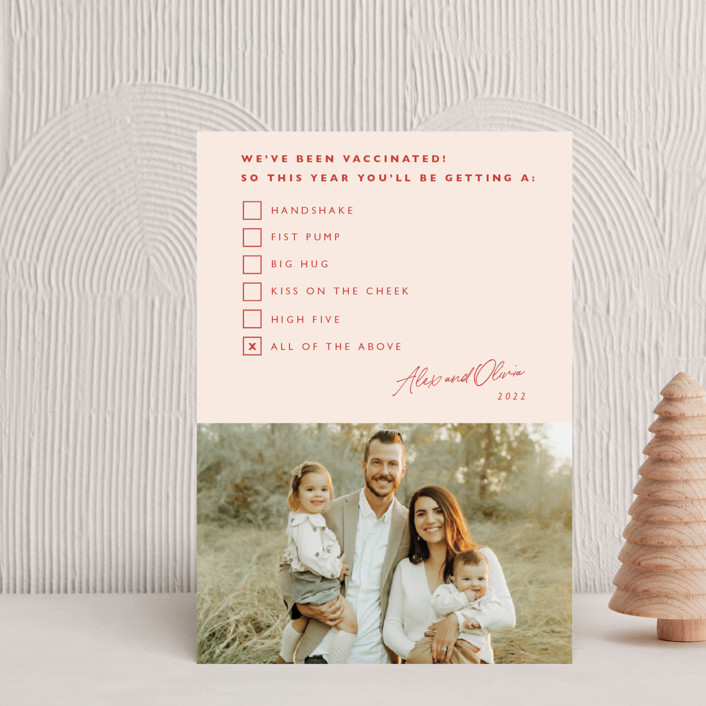 """""""All of the Above"""" - Funny Holiday Petite Cards in Candy by Hudson Meet Rose."""