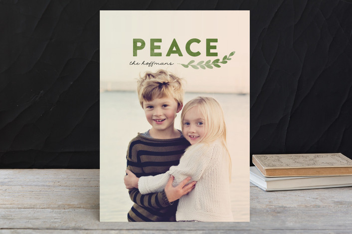 """Peace Of Pine"" - Holiday Petite Cards in Pine by annie clark."