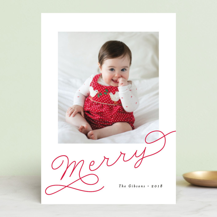 """""""Adorably Merry"""" - Holiday Petite Cards in Holly by Chryssi Tsoupanarias."""
