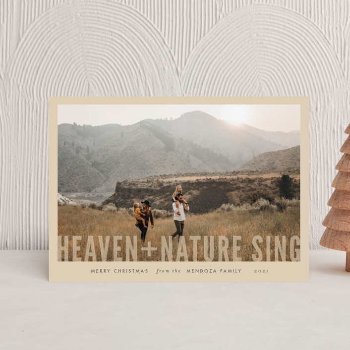 """""""Heaven + Nature"""" - Holiday Petite Cards in Snow by Pistols."""