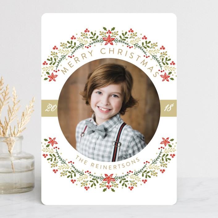 """""""The Most Wonderful Time Of The Year!"""" - Holiday Petite Cards in Creme by Susan Moyal."""