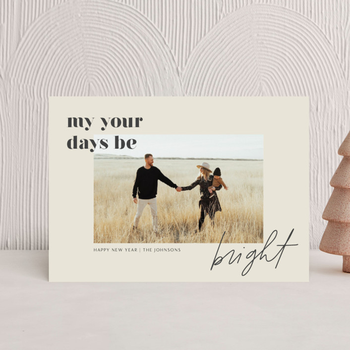 """""""Brighter Days Ahead"""" - Holiday Petite Cards in Mist by seulghi."""