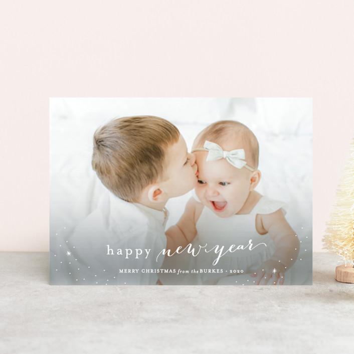 """Counting Our Blessings"" - Holiday Petite Cards in Snow by Sarah Curry."