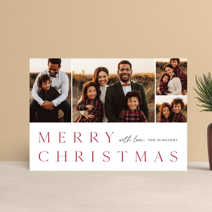 """""""Photo book"""" - Holiday Petite Cards in Holly Berry by Stacey Meacham."""