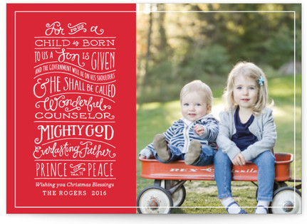 Book of Isaiah Holiday Petite Cards