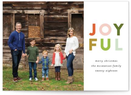 Colorful Joyful Holiday Petite Cards