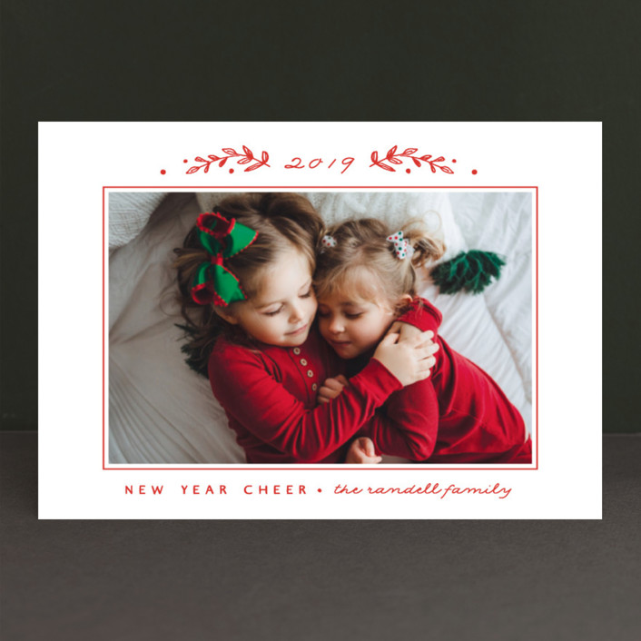 """""""Holiday Frame"""" - Holiday Petite Cards in Santa Red by Susan Brown."""
