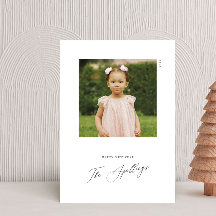 """""""Simple Square"""" - Holiday Petite Cards in Onyx by Genna Blackburn."""