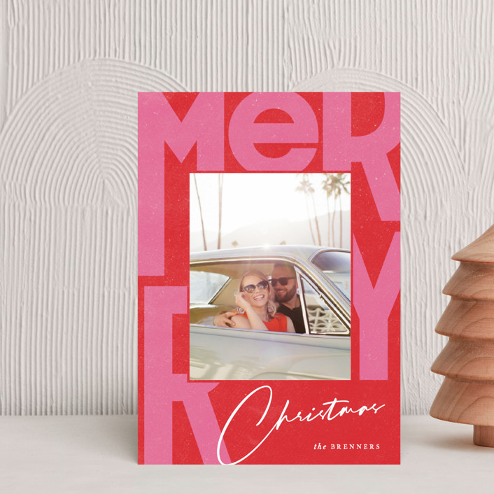 """""""Merri Berri"""" - Holiday Petite Cards in Candy Cane by Carrie ONeal."""